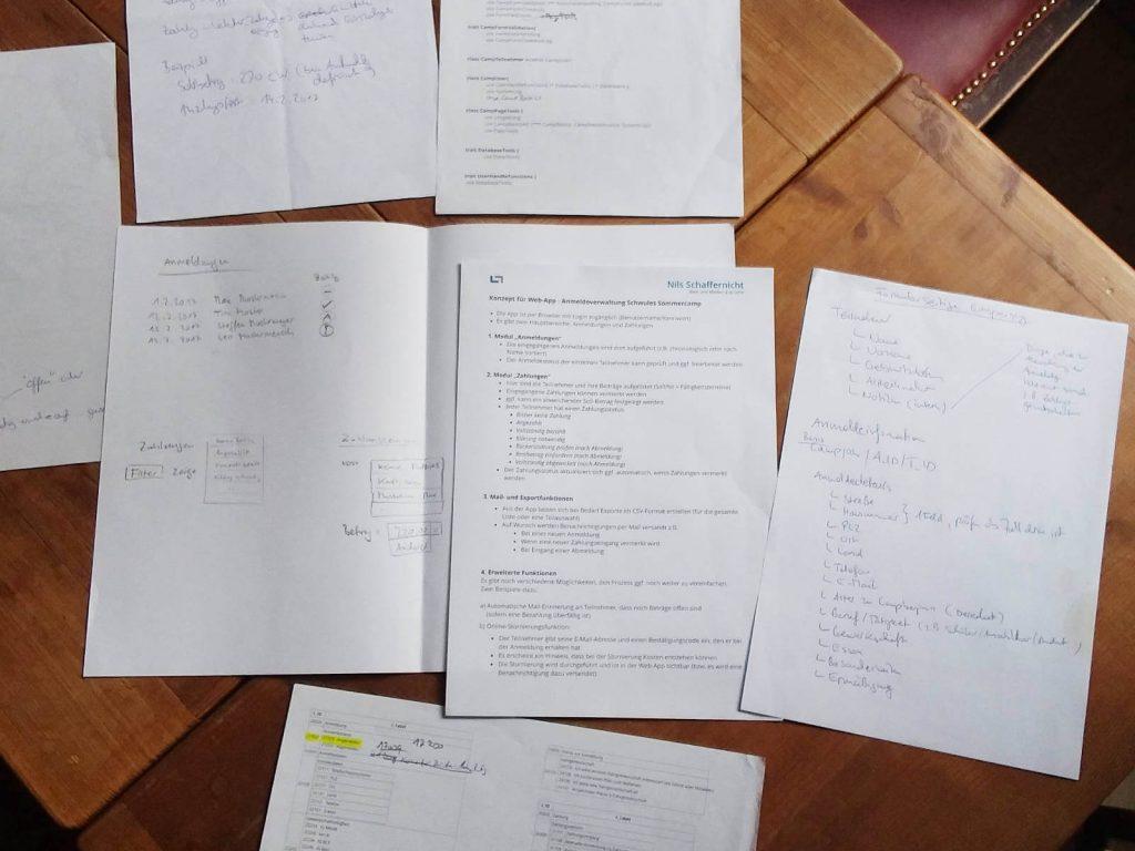 Konzeption des Workflow-Moduls